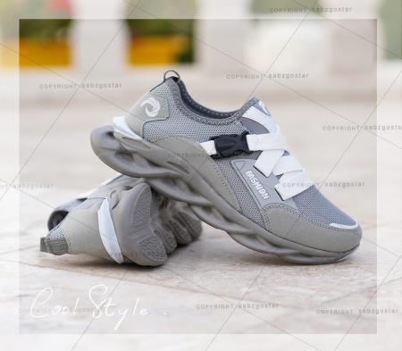کفش مردانه Fashion (طوسی)